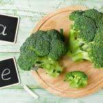 Broccoli rich in vitamins and minerals. Dietary product for the prevention of various diseases