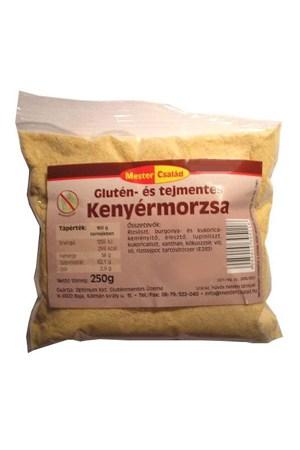 Gluténmentes kenyérmorzsa