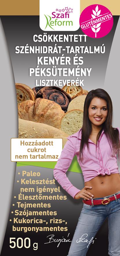 Paleo kenyér és péksütemény lisztkeverék